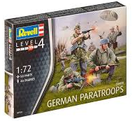 1:72 GERMAN PARATROOPS - Revell 02532
