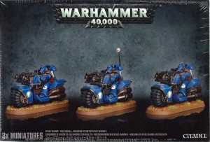 Warhammer 40 000  Space Marine - Bike Squad 4811