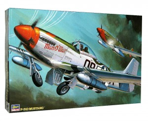 1:32 North American P-51 D MUSTANG - HASEGAWA 08055 ST-5