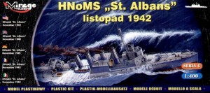 1:400 HNoMS St. Albans - Mirage 40609