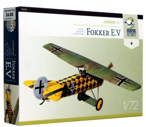 1:72 1:72 FOKKER E.V - Arma Hobby 70013 Junior set