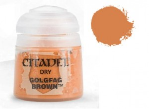 Citadel Dry - Golgfag Brown 12 ml - 2326