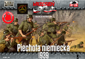 1:72 First to Fight PL1939-016 Piechota Niemiecka