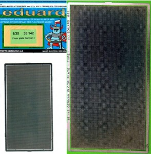1:35 Eduard 35142 Floor Plate German I