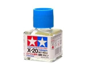 Tamiya 80030  X-20 Rozcieńczalnik do Tamiya Color Enamel Paint - 40 ml