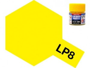 Tamiya LP- 8 Gloss Pure Yellow 10 ml - 82108