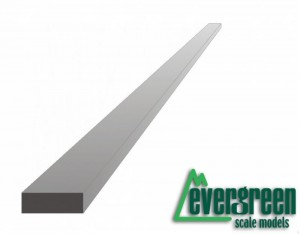 Evergreen 158 Profil - prostokąt 1,5 x 4,8 x 350 mm