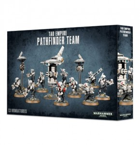 Warhammer 40 000  Tau Empire - Pathfinder Team 5609