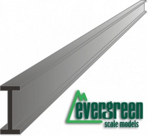 Evergreen 272 Profil I - 2 mm x 350 mm