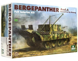 1:35 Bergepanther Ausf.A - Full Interior Kit – Takom 2101