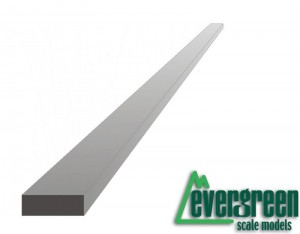 Evergreen 178 Profil - prostokąt 2,5 x 4,8 x 350 mm