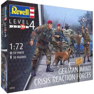 1:72 GERMAN ARMY - Crisis Reaction Forces - Revell 02522