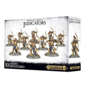 .Warhammer AGE OF SIGMAR - Wood Stormcast Eternals Judicators 9611