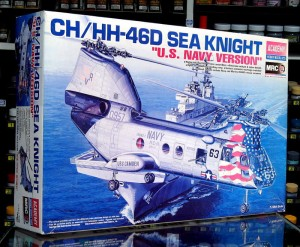1:48 BOEING CH-46 / HH-46 SEA KNIGHT U.S. NAVY version - Academy 12207