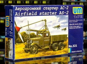 1:72 Uni Models 321 Airfield Starter AS-2