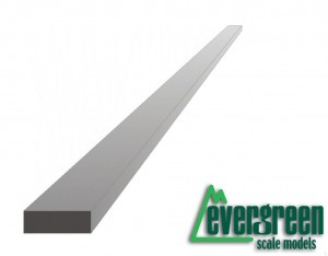 Evergreen 125 Profil - prostokąt 0,5 x 2,5 x 350 mm