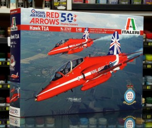 1:48 BAE HAWK T1A Red Arrows - Italeri 2747