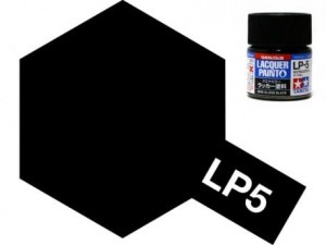 Tamiya LP- 5  Semi Gloss Black 10 ml - 82105