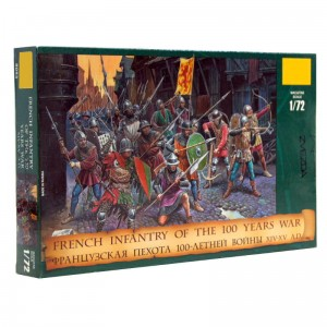 X 8053 French infantry 100 Years War