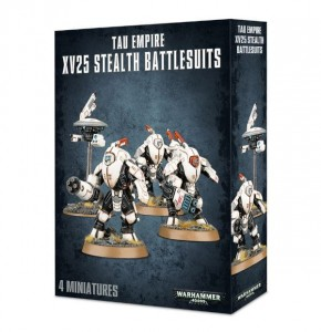 Warhammer 40 000  Tau Empire - XV25 Stealth Battlesuits 5614