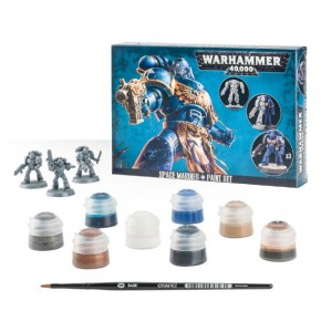 Warhammer 40 000  Space Marines + Paint Set 6011