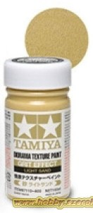 Tamiya 87110 Diorama Texture Paint - Soil Effect - Light Sand