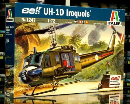 1:72 Bell UH-1 D IROQUOIS - Italeri 1247