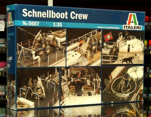 1:35 Załoga Schnellboota - Italeri 5607